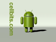 Android robot 3D phone wallpaper