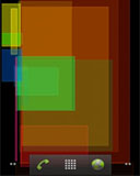 multi-colored rectangles random live wallpaper