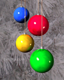 glass christmas tree ornaments phone background wallpaper